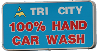 tri City Car Wash Sign